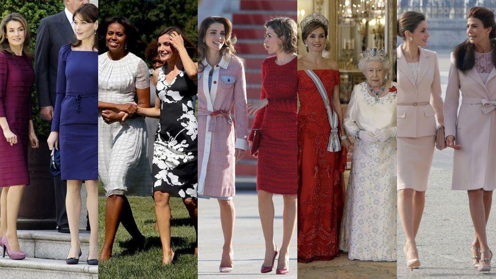 Letizia vs Melania: los otros encuentros de la Reina que fueron historia