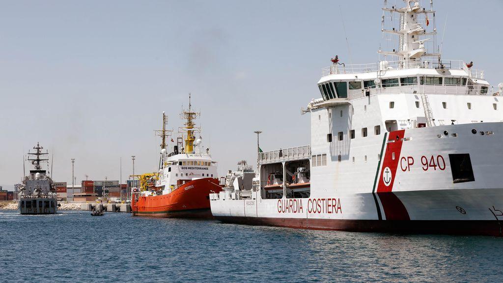 La flotilla del Aquarius ya está en España