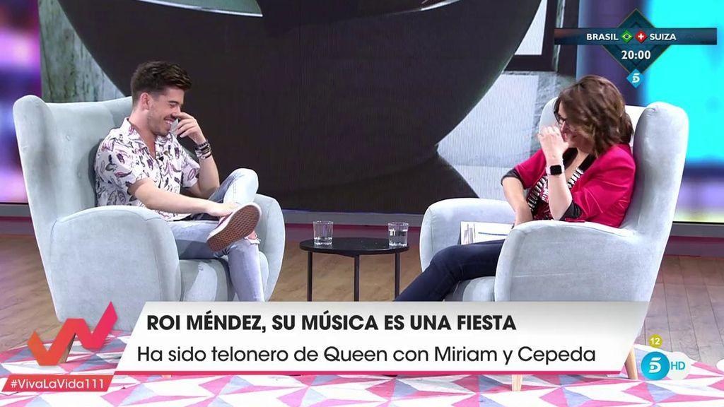 """El sentido del humor de Roi desconcierta a Toñi Moreno: """"Se está quedando conmigo"""""""