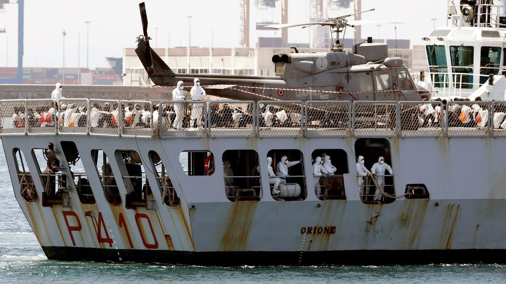 El Oriane llega al puerto de Valencia