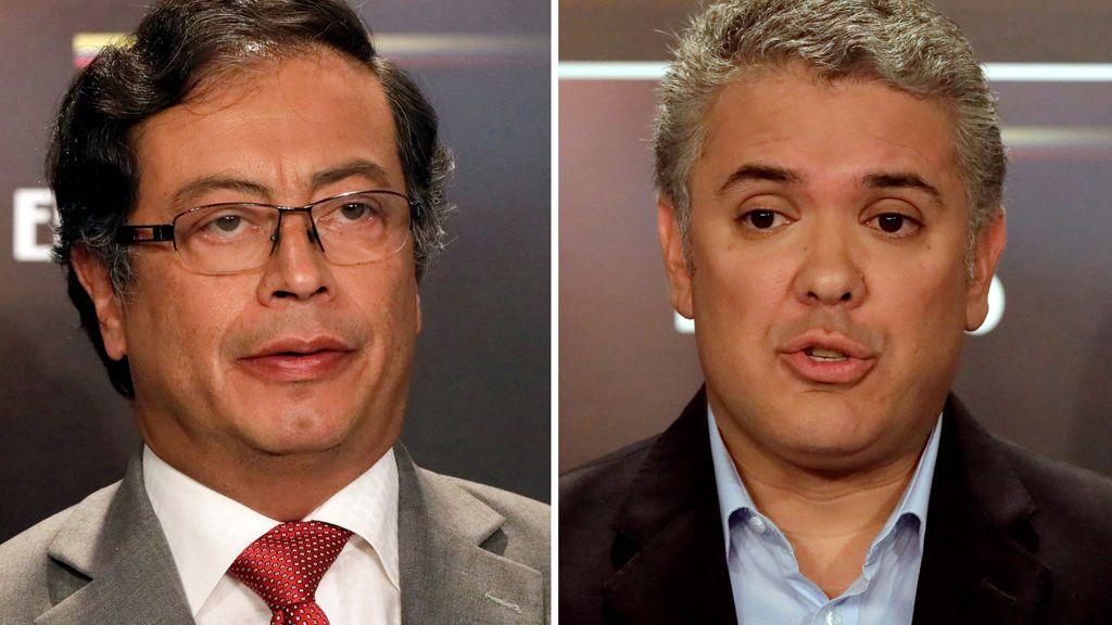 Iván Duque y Gustavo Petro enfrentan sus visiones de la paz en las urnas