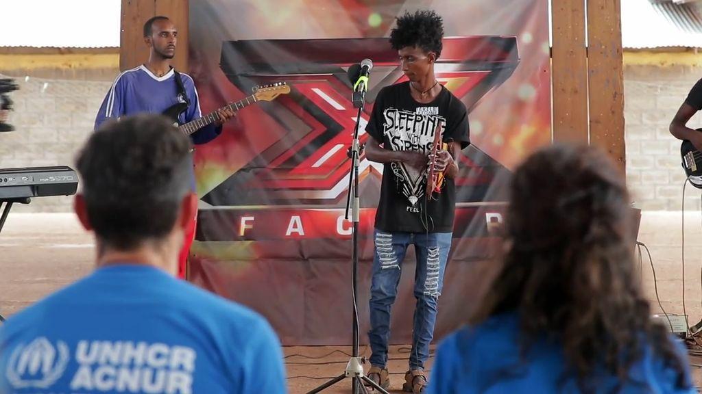 Jesús Vázquez lleva 'Factor X' a los campos de refugiados de Etiopía