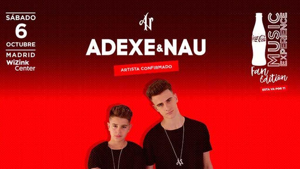 ¡Adexe&Nau y Why Don't We se suman a la lista de confirmados para el #CCME Fan Edition!