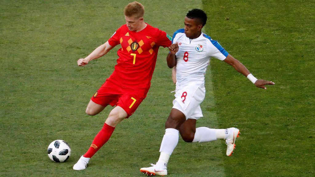 Panamá debuta en el Mundial de Rusia con Bárcenas, 'roba' varios balones y las redes enloquecen