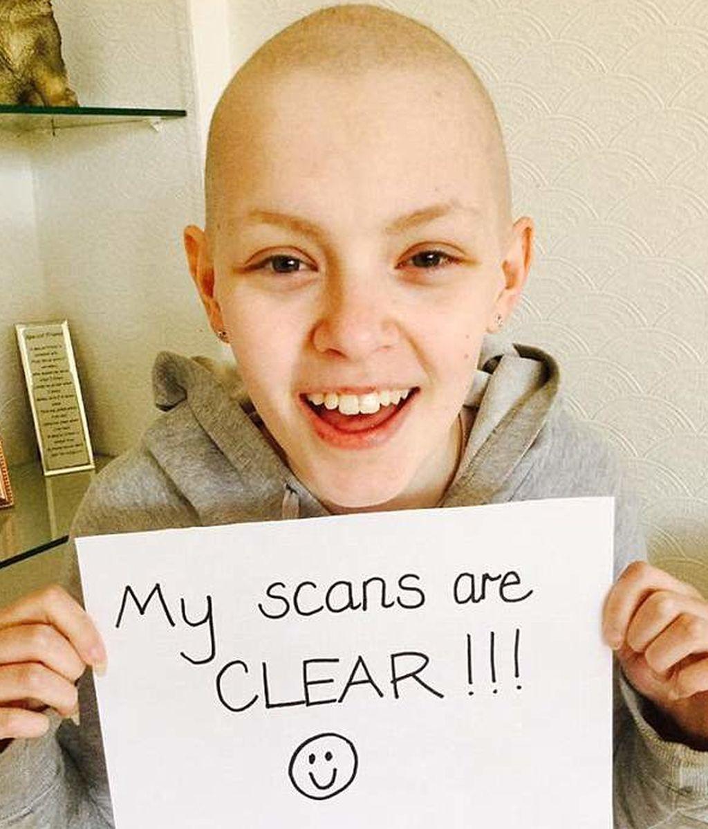 Con 14 años, recibe las donaciones suficientes para operarse después de 3 años luchando contra el cáncer