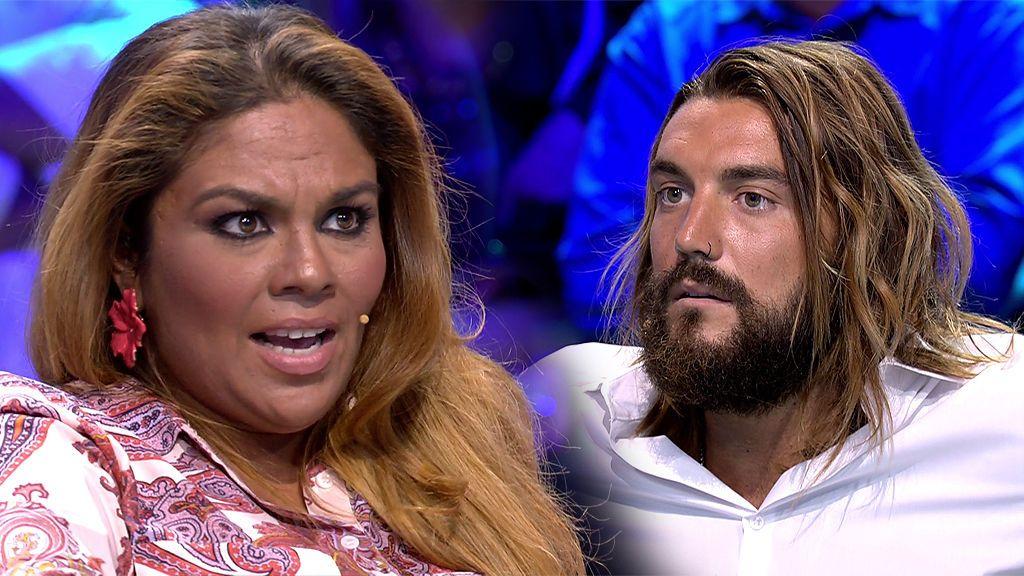 """Saray carga contra Logan: """"Ole por ti, por ser un caballero y hacer que Romina me llevara a los límites"""""""