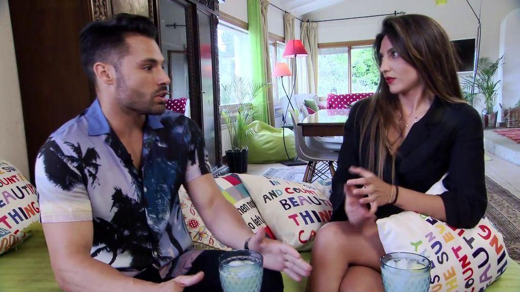 """Cita Eleazar y Carmen: """"Después de un mes, me ha puesto más atención 'Ely' que Jaime"""""""