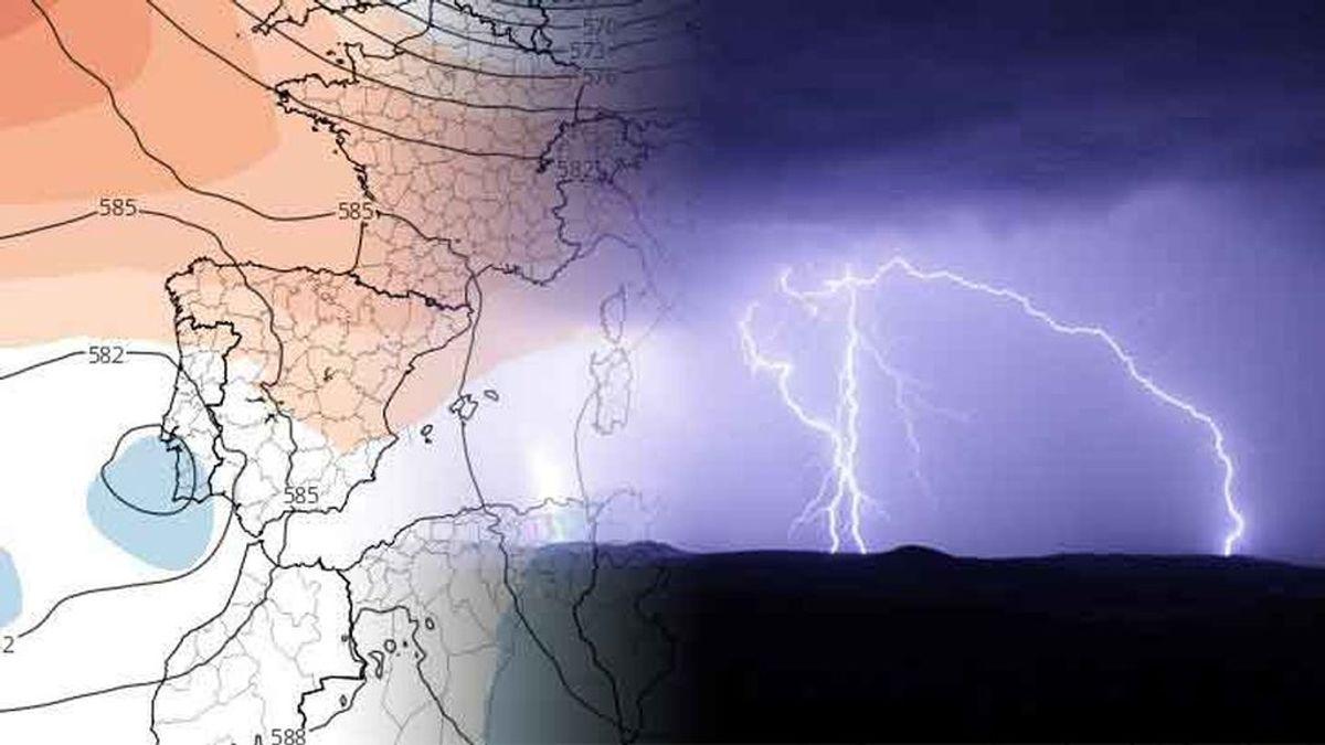 Una pequeña borrasca se acerca: regresan las tormentas a la vez que llega el verano