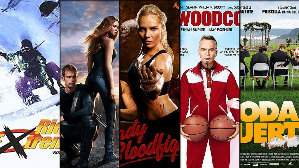 'Divergente', 'Lady Bloodlight', 'Una boda de muerte'… Acción y risas aseguradas en la semana de película de FDF