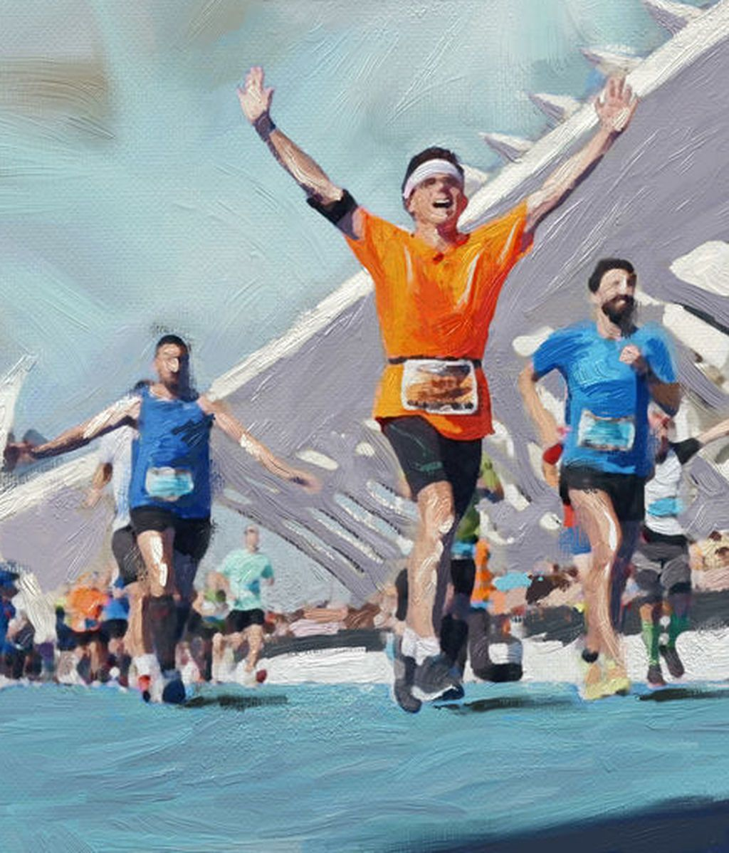 Sorolla da vida al Maratón Valencia en su 38ª edición