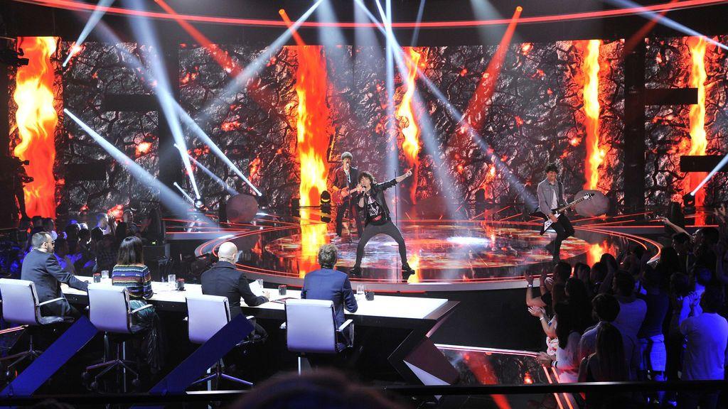 'Factor X' primer directo actuación Malva