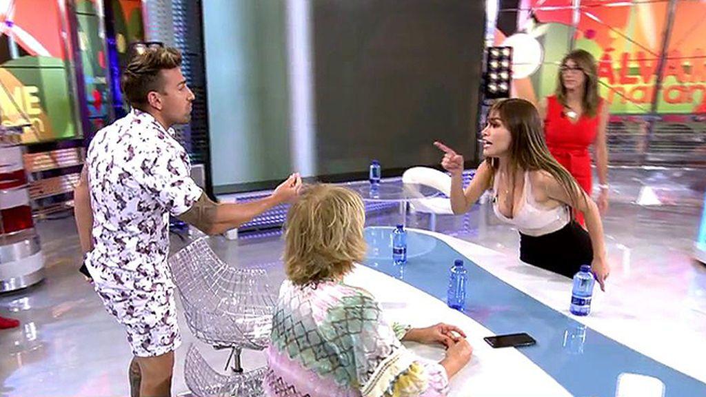 Duelo de acusaciones entre Miriam Saavedra y Rafa Mora : ¡A una la echarían de casa y el otro habría sido desleal!
