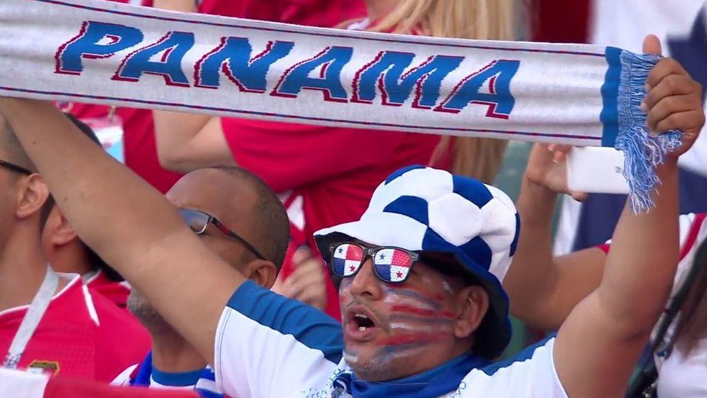 Nada les roba la ilusión: el 'fiestón' de los panameños tras perder 3-0 en su debut mundialista