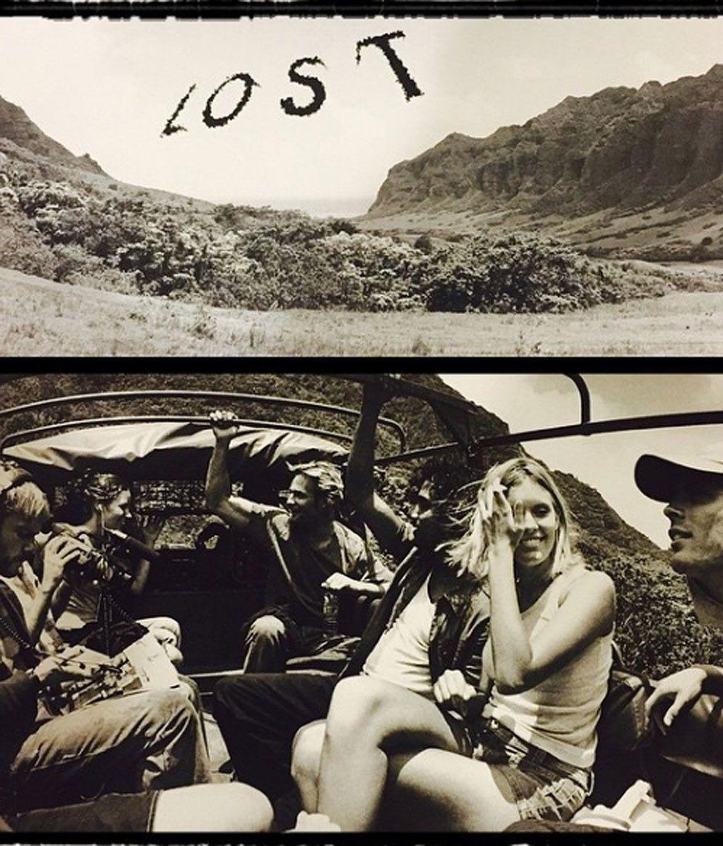 El álbum de los recuerdos de los protas de 'Perdidos'