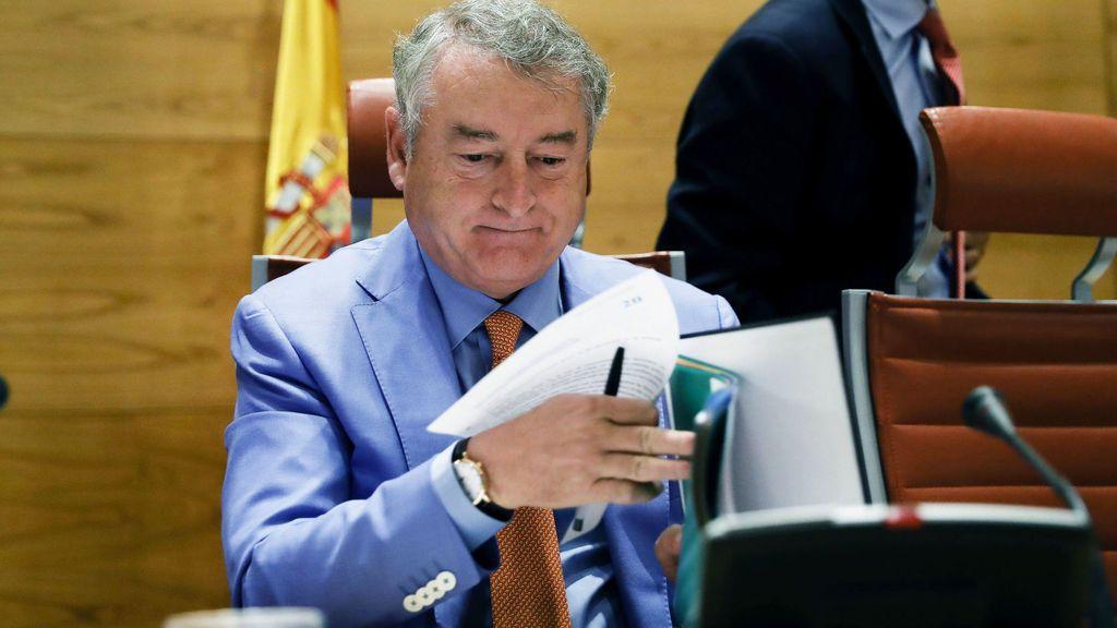 José Antonio Sánchez, durante una Comisión Mixta de Control de RTVE.