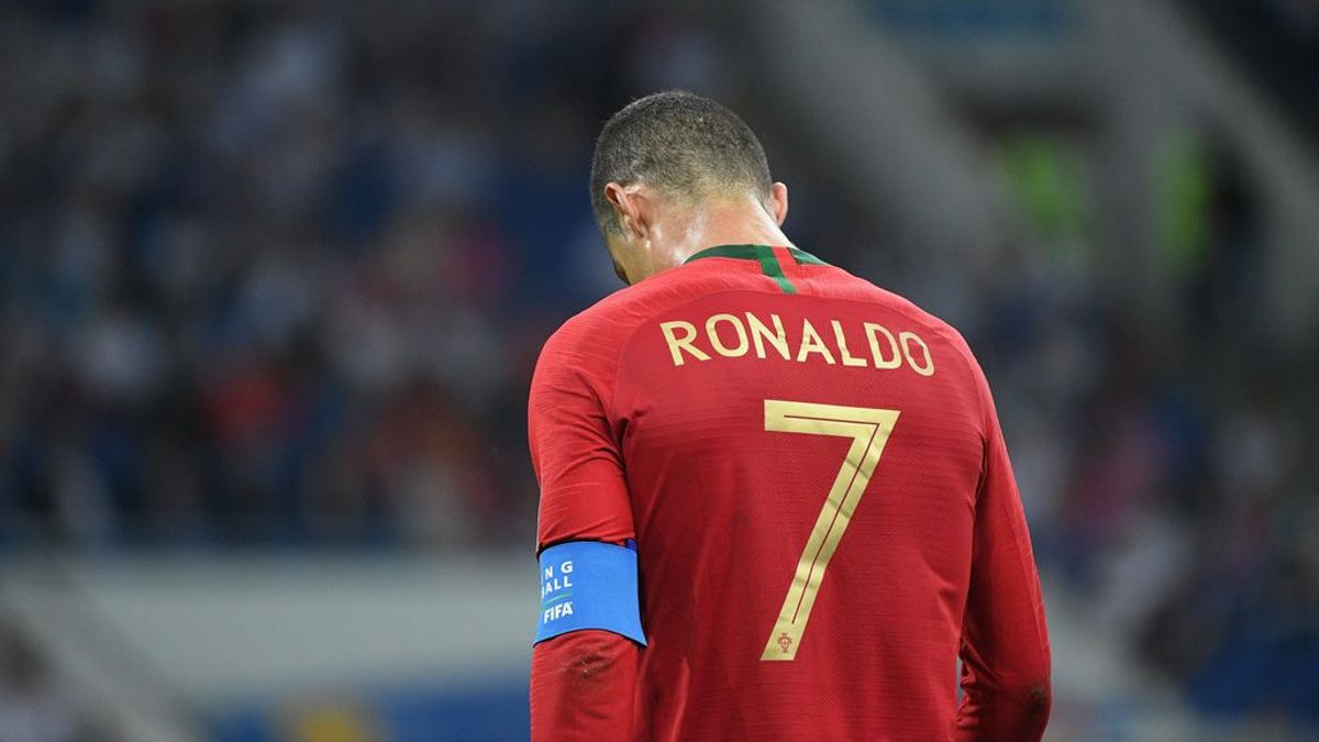 Sale a la luz una foto inédita que Cristiano Ronaldo tiene colgada en su casa