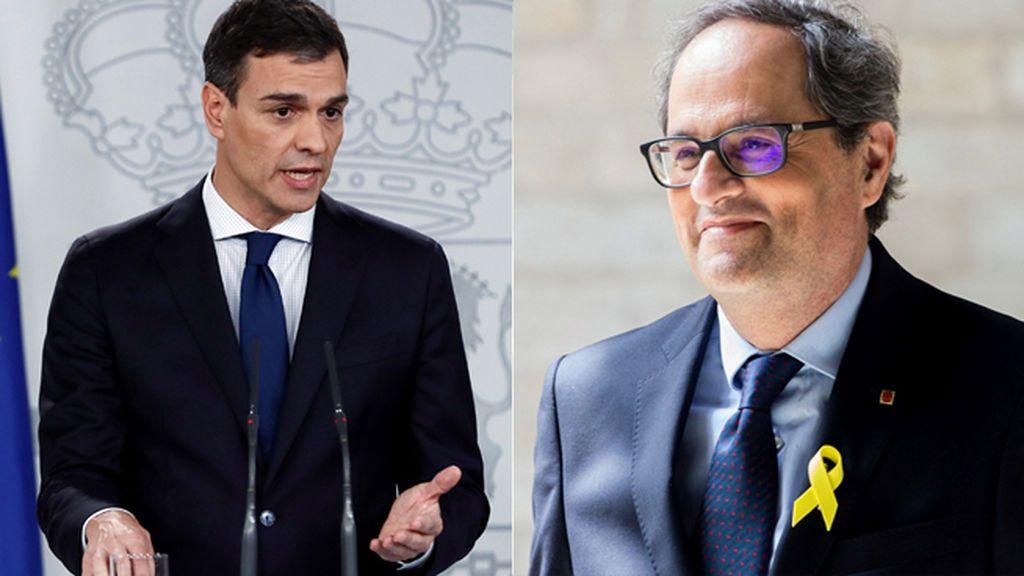 Pedro Sánchez se entrevistará con Quim Torra el 9 de julio en Moncloa