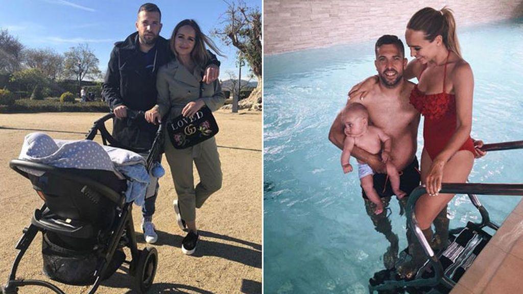 El mensaje de Jordi Alba a su bebé antes del partido clave de España ante Irán