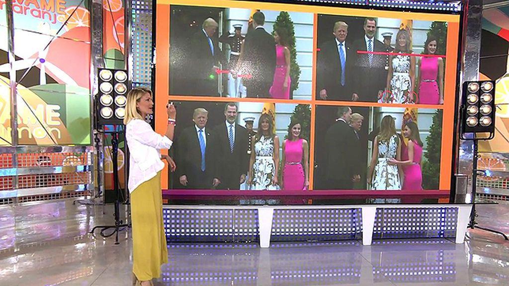 "Cristina Soria ve a Doña Letizia ""empequeñecida"" durante su encuentro con Melania Trump"