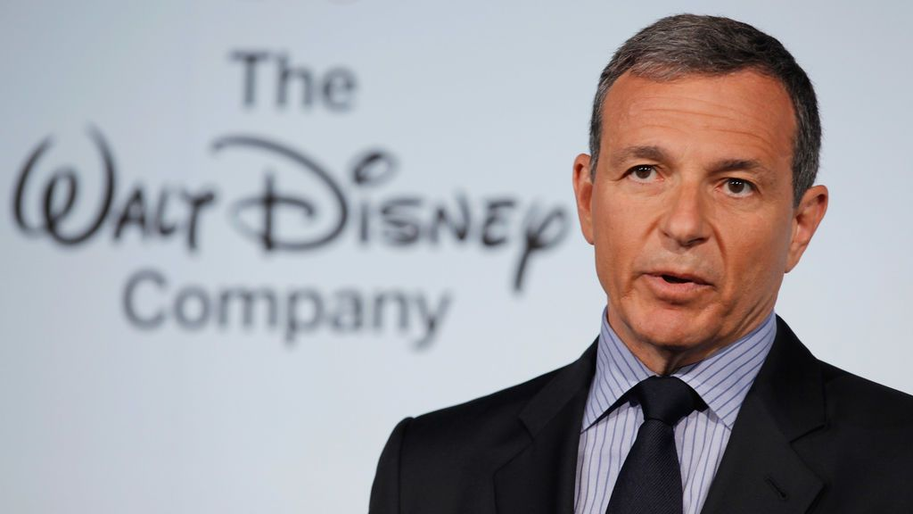 El presidente y director ejecutivo de The Walt Disney Company, Robert Iger.