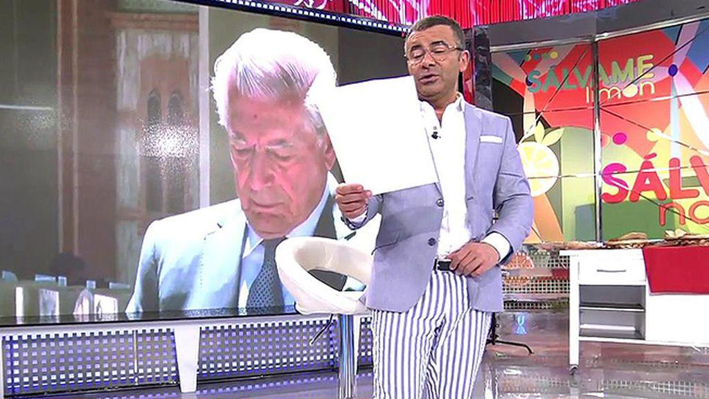 El parte médico de Mario Vargas Llosa: Hematoma en el glúteo izquierdo y leve traumatismo craneoencefálico