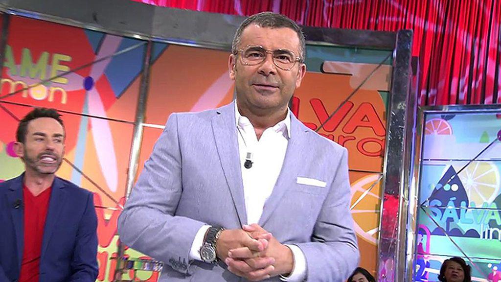 """J.J. Vázquez vuelve a 'Sálvame' con pulla incluida a Kiko Hernández: """"¿Qué tal las exclusivas?"""""""