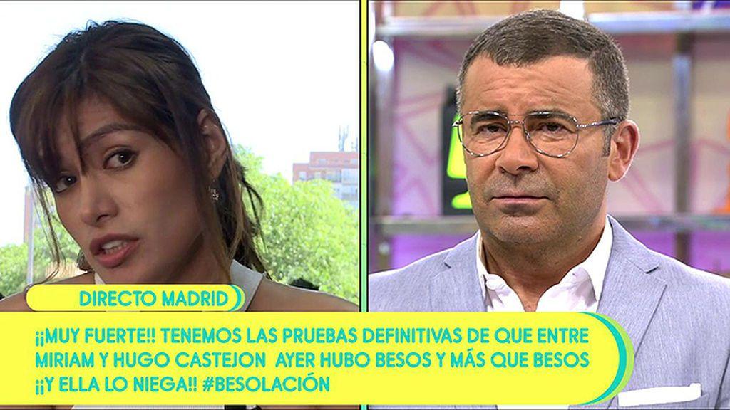 "El zasca de J.J. Vázquez a Miriam Saavedra: ""Todos tus testimonios anteriores quedan totalmente anulados"""