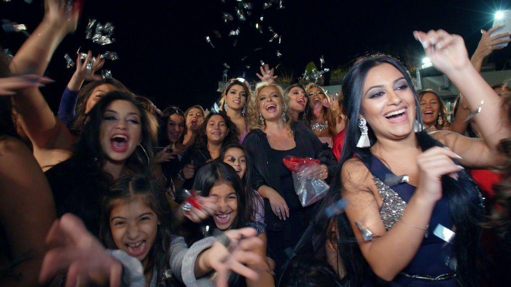 Las Muñoz, en el último episodio de la cuarta temporada de 'Los gipsy kings'.