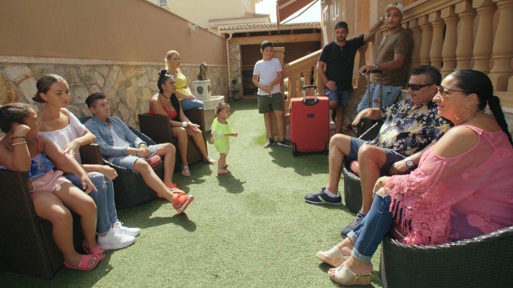 Los Fernández Navarro, en el último episodio de la cuarta temporada de 'Los gipsy kings'.