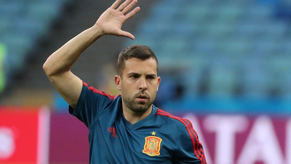 Jordi Alba España selección española