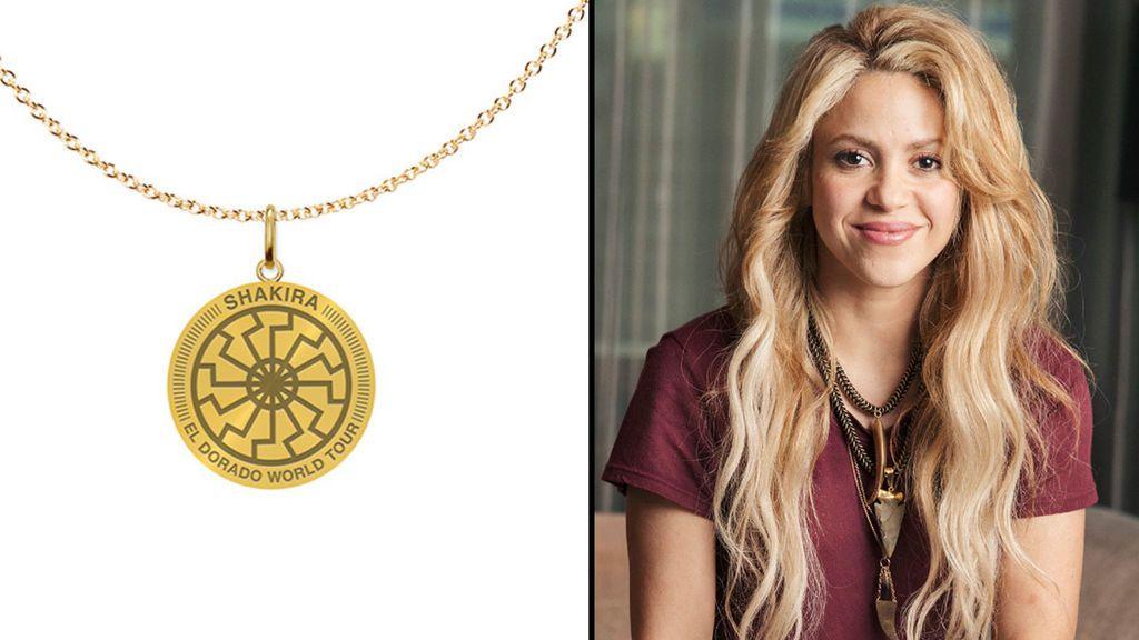 Shakira promociona su gira con un símbolo nazi