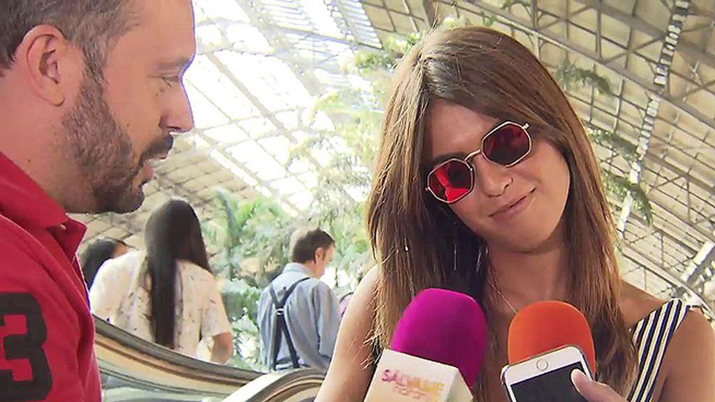 """Sofía Suescun, sobre la polémica con Alejandro Albalá: """"Me llegan tantas cosas que no se qué creer"""""""