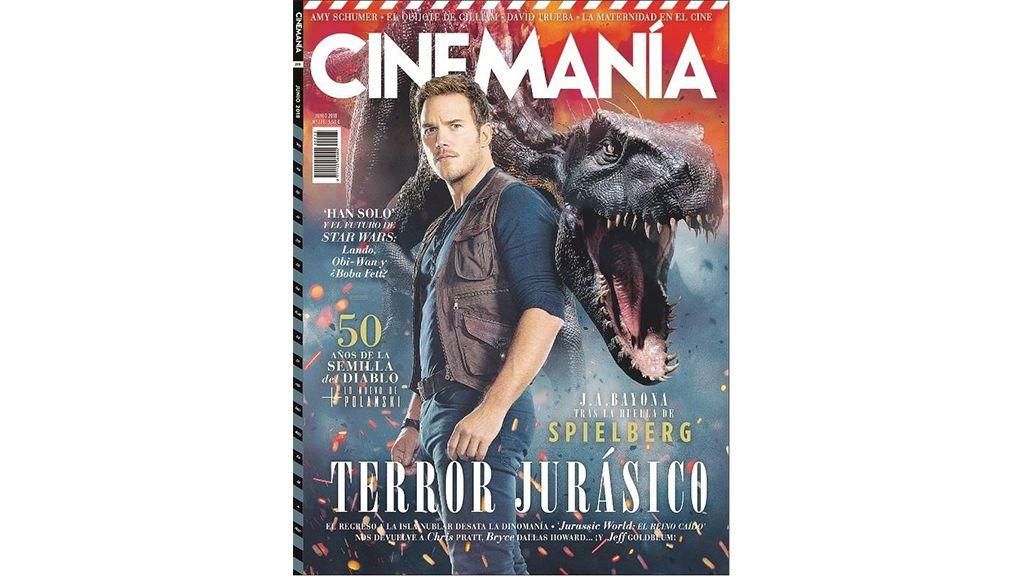 Portada de junio de 2018 de la revista 'Cinemanía'.