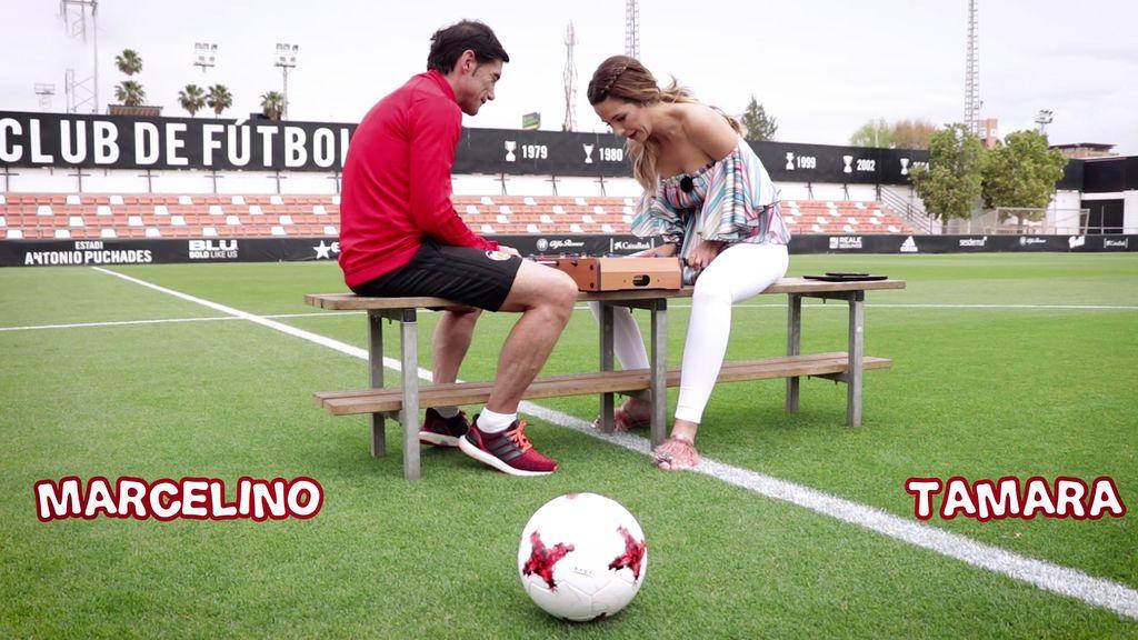 Tamara Gorro vs. Marcelino García Toral ¿quién ganará al futbolín?