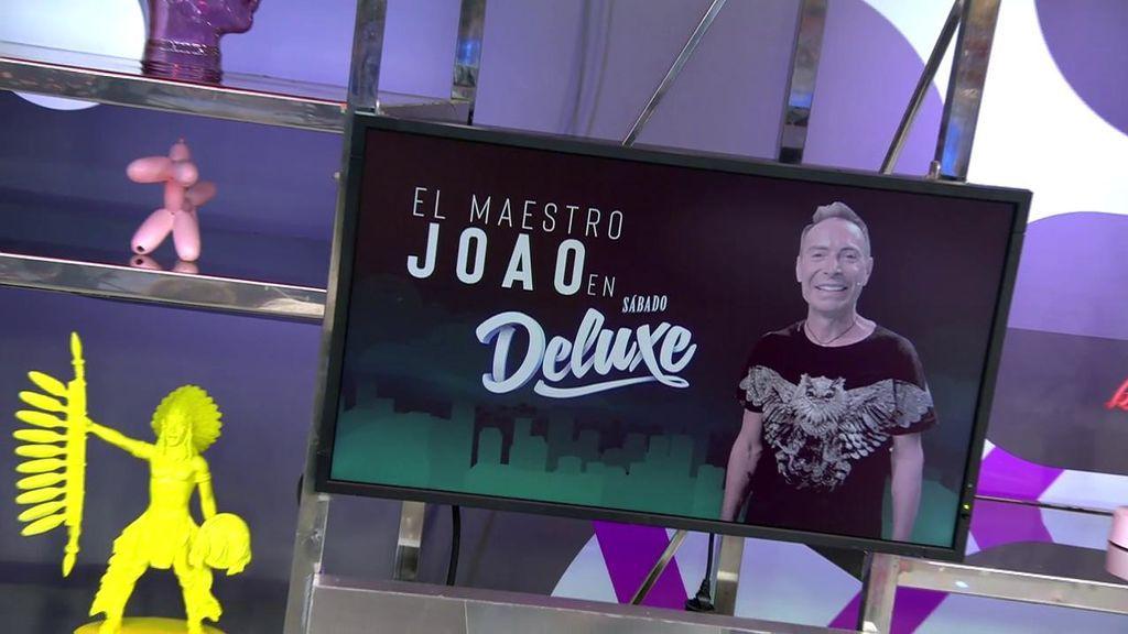 Tras la polémica, El Maestro Joao se sienta en 'Sábado Deluxe'