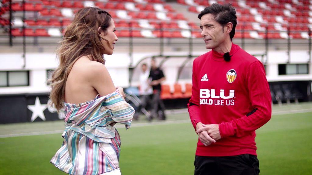 Reto de toques, futbolín y familia: no te pierdas la entrevista de Tamara Gorro a Marcelino García Toral (1/2)
