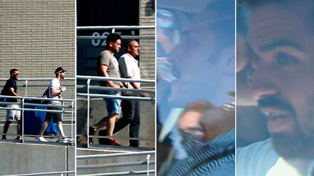 los cinco miembros de la manada en libertad tras pagar