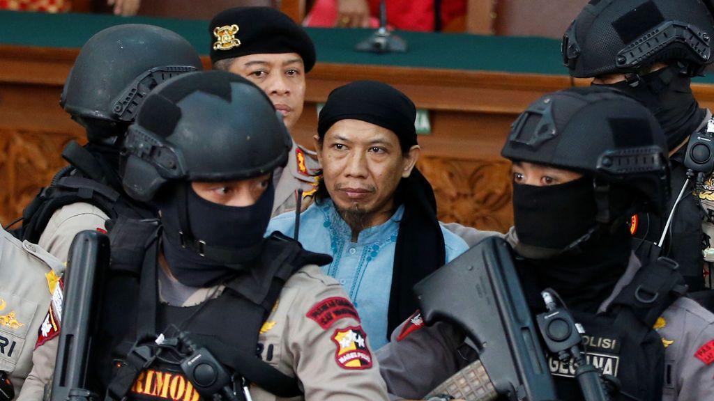 Condenan a pena de muerte a un extremista islamista por los atentados en Yakarta