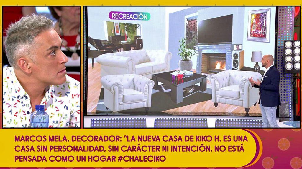 """La casa de Kiko Hernández a análisis: La habitación no es """"masculina"""" y el salón parece """"de abuelos"""""""