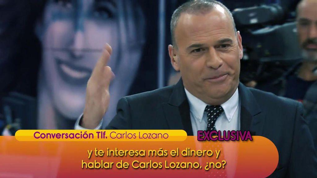 """El cabreo monumental de Carlos Lozano contra Miriam Saavedra: """"¡Eres una mentirosa y una montajista!"""""""