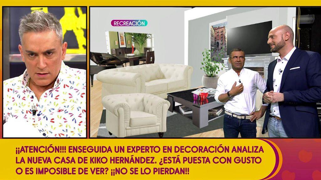 """Kiko Hernández se pica ante la valoración de un experto que suspende la decoración de su casa: """"¡Y yo preocupado!"""""""