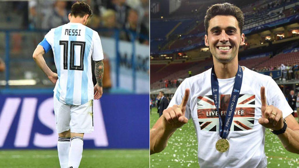 Arbeloa se acuerda de Messi en su peor noche con Argentina