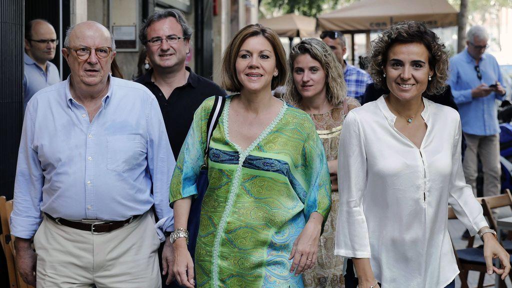 """cospedal pide cuidar al partido popular para que """"no salga herido"""" tras la campaña"""