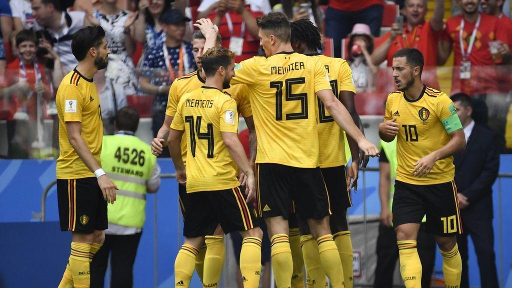 Bélgica, un auténtico vendaval atacante: cuatro goles y 23 remates contra Túnez