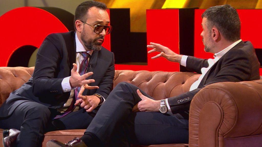 """La pregunta de Risto que provoca la confesión más esperada de Santi Vila: """"¿Volverías a convocar el referéndum?"""""""
