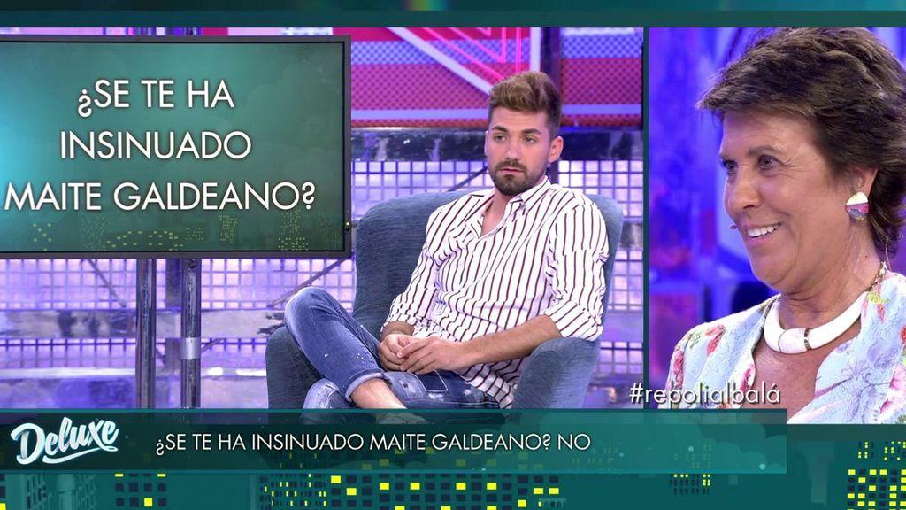 """Una mentira de Albalá revela que Maite Galdeano se le ha insinuado: """"Se ha metido en mi cama"""""""