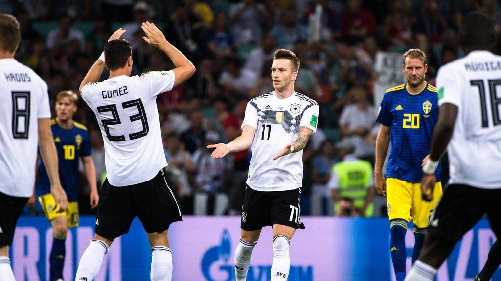 Alemania termina volcada al ataque: Todos los jugadores adelantaron su posición, incluido Neuer