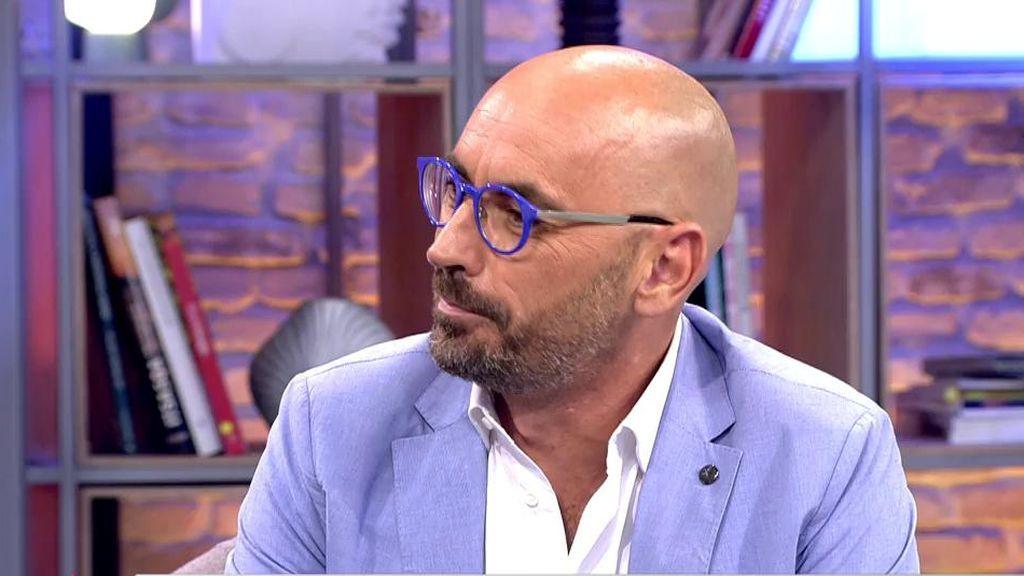 Diego Arrabal bromea y culpa al aguacate de Elena Tablada de la retirada de Kiko Rivera