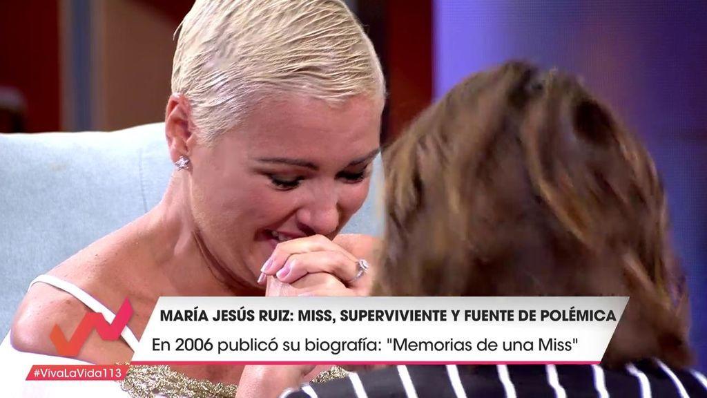 """María Jesús Ruiz rompe a llorar: """"Creo que soy una mala hija"""""""