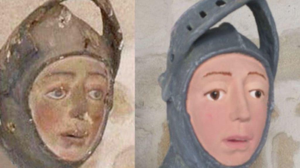 Ecce Homo a la navarra: a Cecilia le sale competencia en una iglesia de Estella